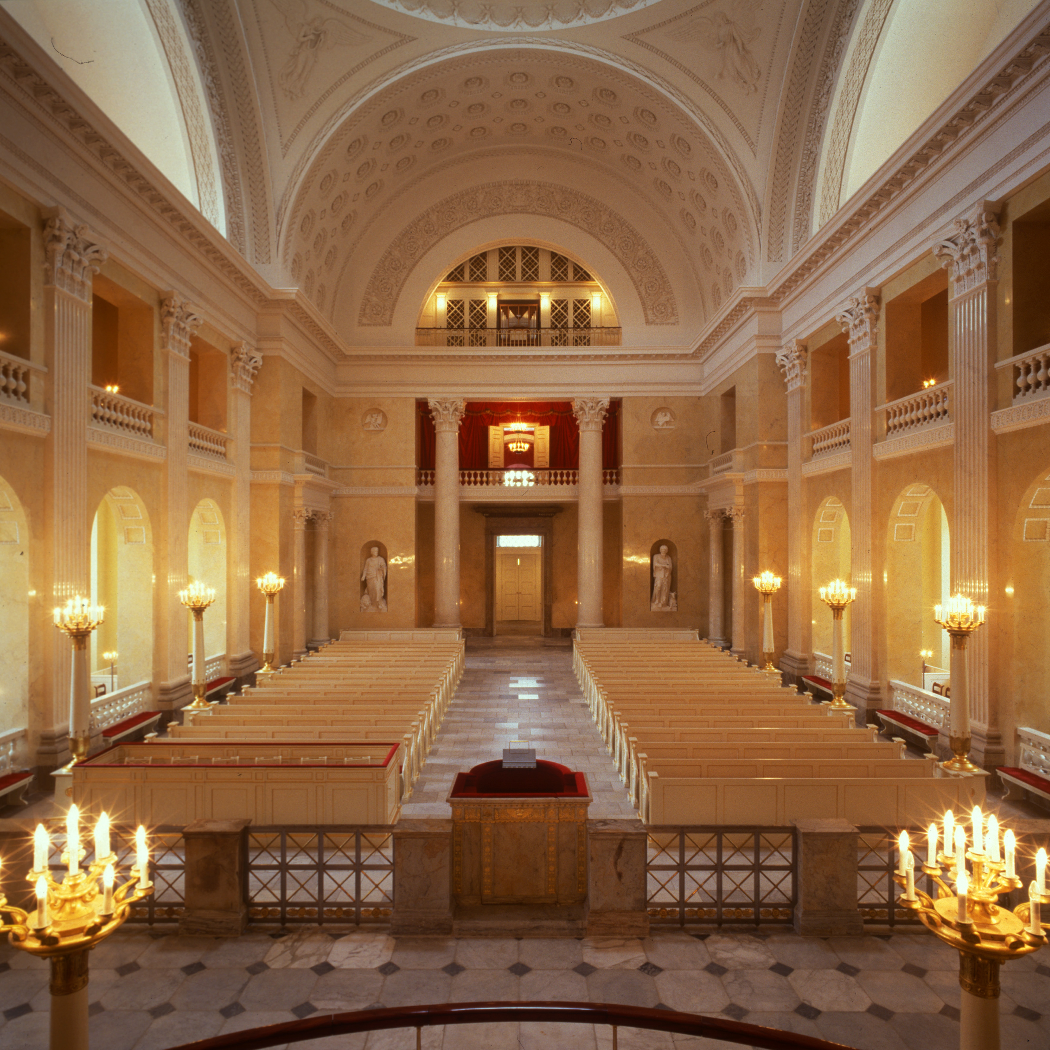 Christiansborg Slotskirke interiør