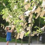 Yoko Ono Wish Trees for Wanås 2011