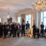 Den svenske ambassadør Fredrik Jörgensen holder tale ved uddelingen af Dansk-Svensk Kulturfonds Kulturpris 2015.