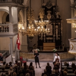 Stina Ekblad læser og fortæller om Edith Södergran i Garnisons Kirke