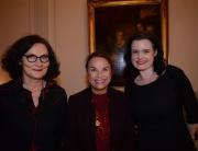 Ebba Witt-Brattström, Catharina Collet og  Leonora Christine Skov til debataften om ligestilling og køn.