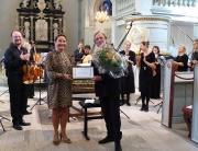Dirigent Lars Ulrik Mortensen modtager Dansk-Svensk Kulturfonds pris 2016